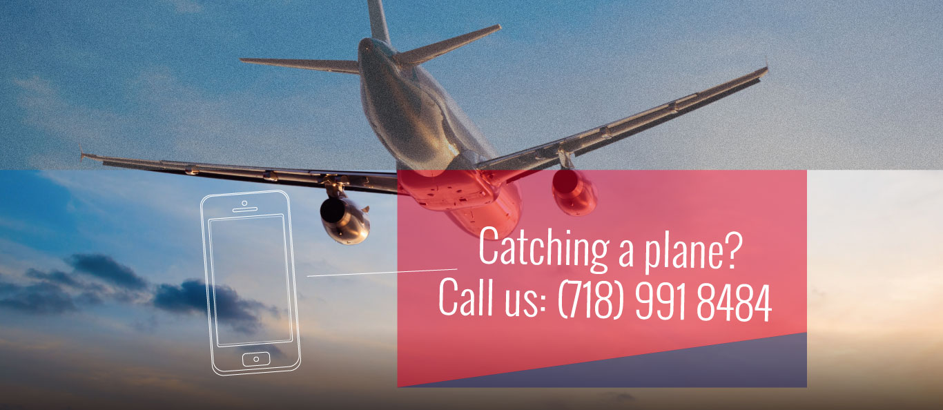 Catching a plane? Call us!